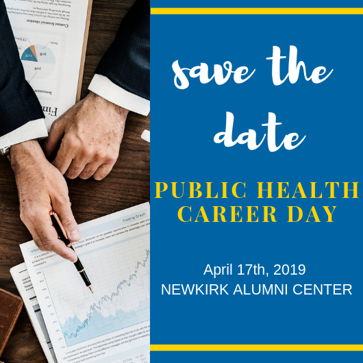 Save the Date: Public Health Career Day