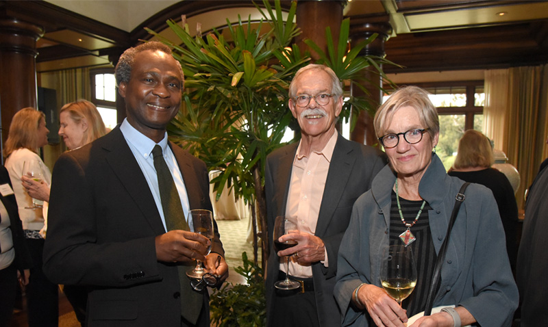Reception organized by UCI Advancement for Vice Chancellor Goldstein at Newport Bay Club - May 8th