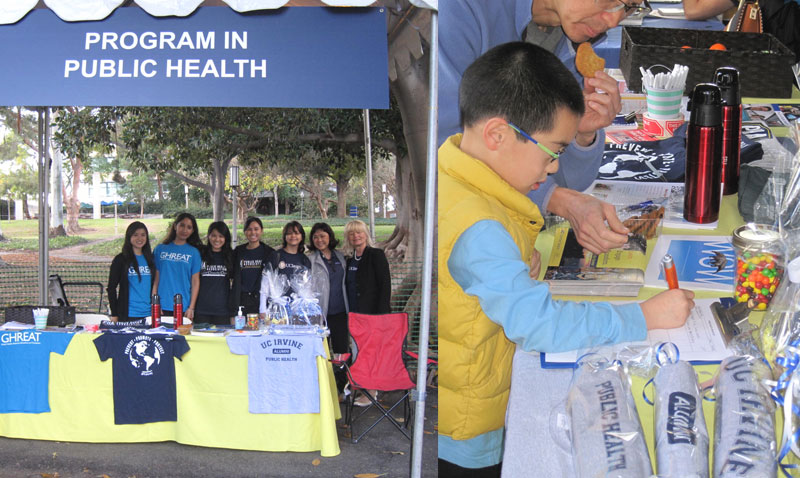 UC Irvine Public Health at Homecoming 2015