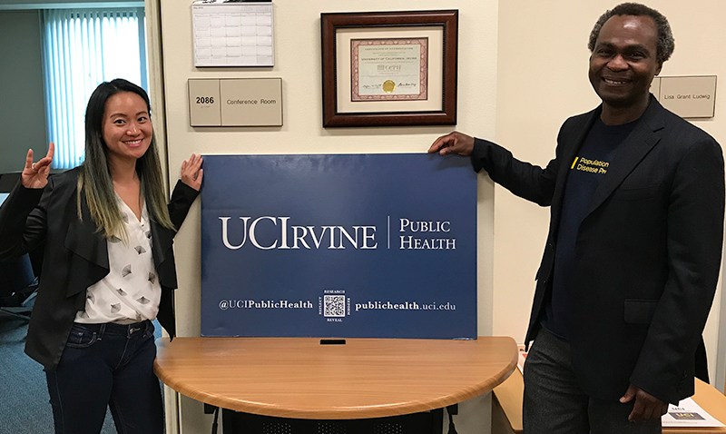 Congratulations to Sara Wei, illustrious alumna of the UC Irvine Program in Public Health - Peace Corp in China