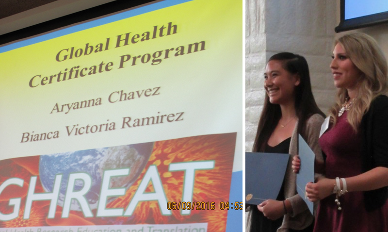 2016 Undergraduate Public Health Honors Ceremony