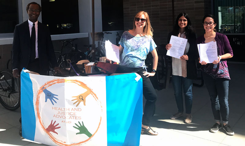 UC Irvine Public Health Students and Chair Encouraging Voter Participation in Mid-term Elections 2018