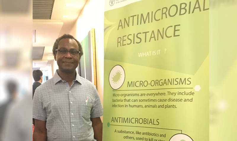 Professor Dele Ogunseitan participated in the special forum on antimicrobial resistance and one-health at the 2018 Prince Mahidol Award Conference in Bangkok, Thailand