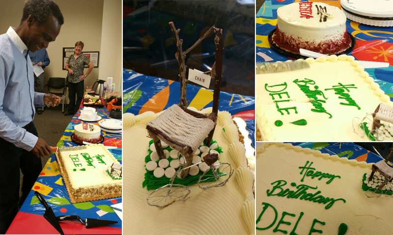 UCI Public Health Celebrates the Birthday of Prof. and Department