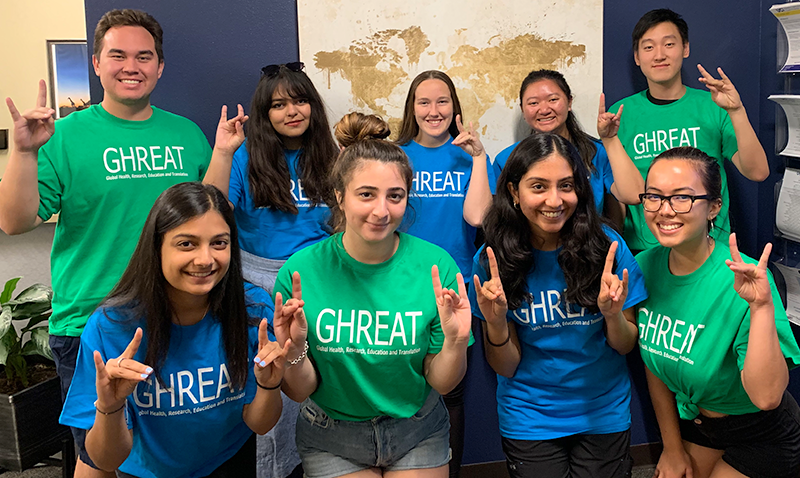GHREAT (Global Health Research, Education, and Translation) Students