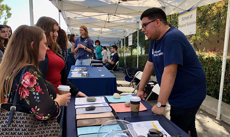 Over one thousand students attend Fall Preview Day Saturday, October 27th, 2018