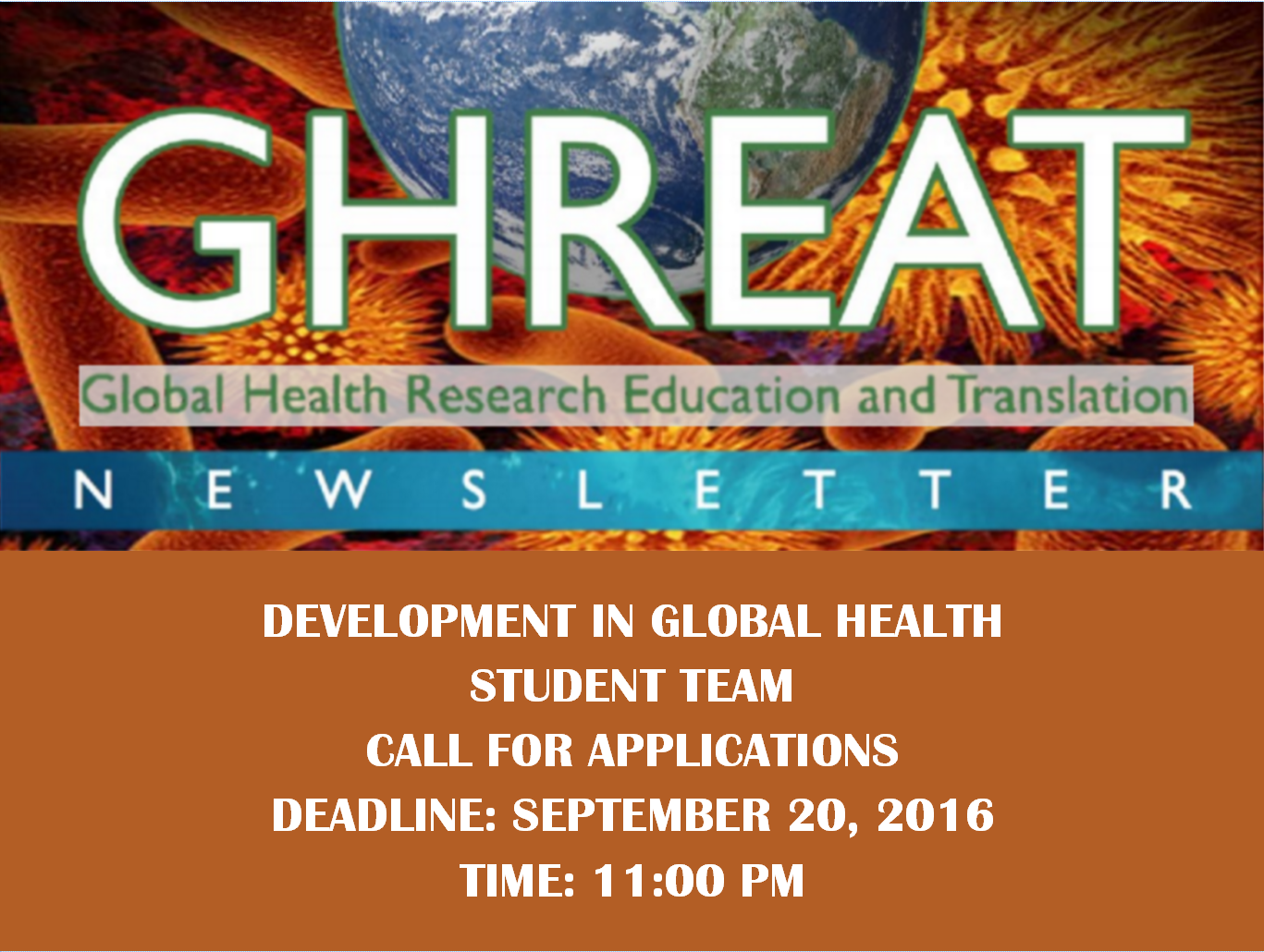 Global Health Research Education And Translation Ghreat