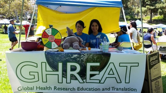August 2014, GHREAT Journal Club students participate in the 2nd Annual Summer Games Involvement Fair!