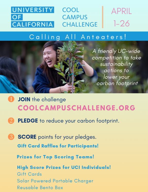 UCI Carbon Neutrality Fellow Samer Khan walks you through the Cool Campus Challenge!
