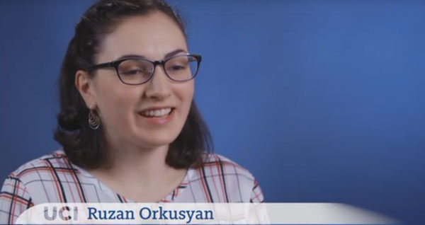 Video: Meet Ruzan Orkusyan, class of 2019