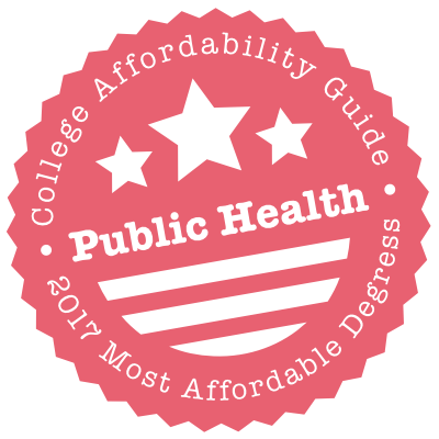 UCI Public Health ranked #1 in affordable degree programs among the best 50 Public Health Schools and Programs in the United States for 2017.