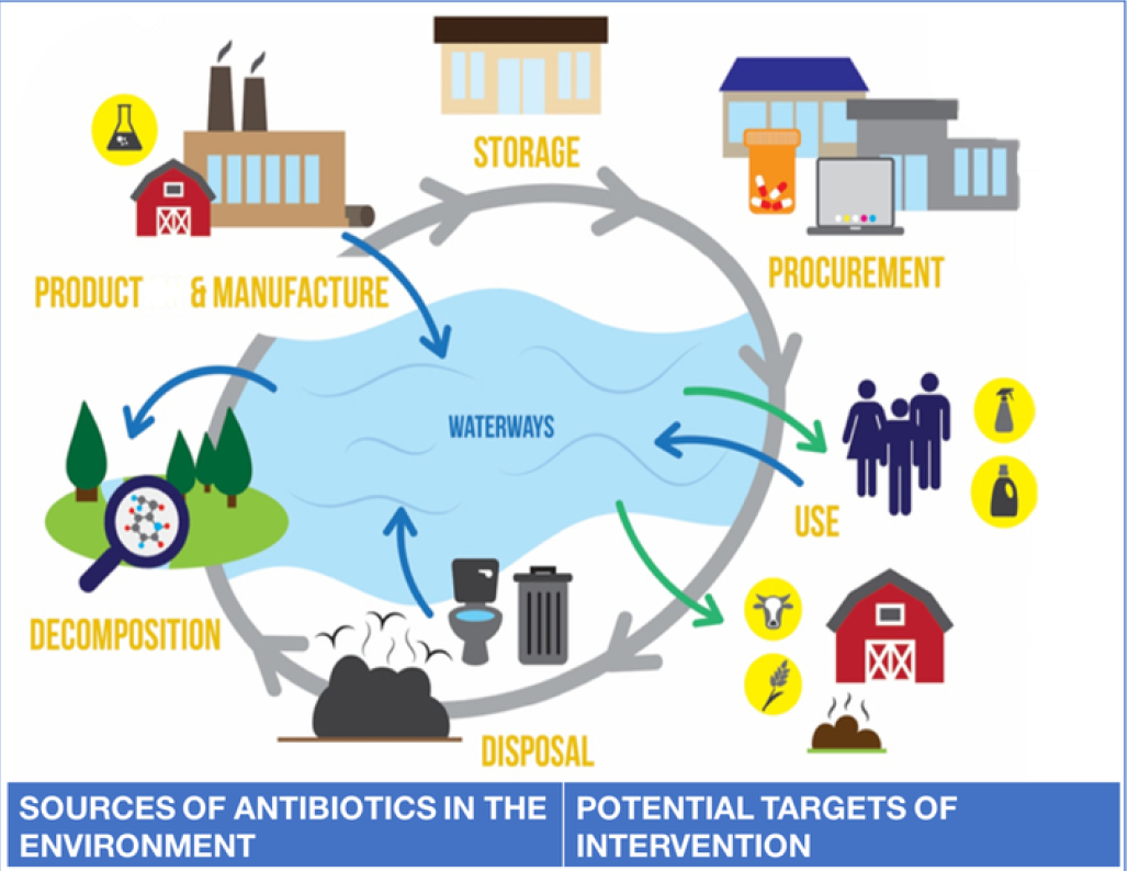 Dele Ogunseitan and the U.S. Department of State publish article on the environmental context of antibiotic resistance, (Environment International, Volume 116, pages 39-42)