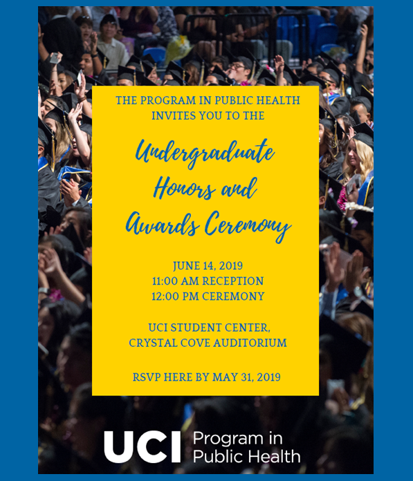 2019 Undergraduate Honors and Awards Ceremony - June 14