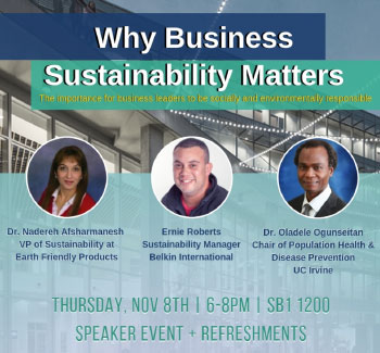 EVENT: Why Business Sustainability Matters for Health and the Environment