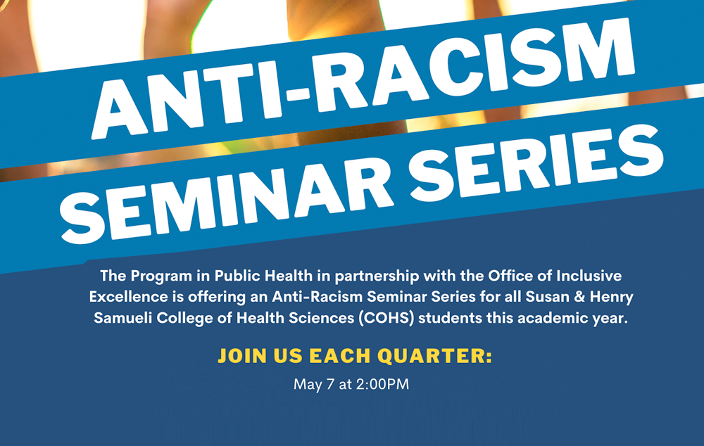 Anti-Racism Seminar Series: Interpersonal Accountability - May 7 at 2:00 p.m.