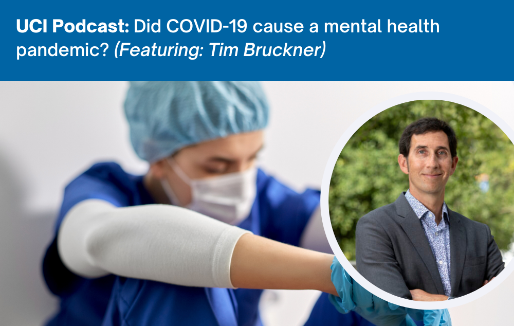 Tim Bruckner discusses the importance of equity in pandemic response