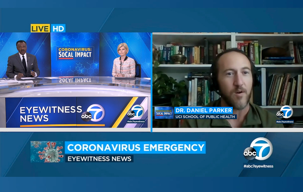 ABC 7: Why is Orange County seeing big surge in coronavirus? Experts trace spread of disease - featuring Dr. Daniel Parker