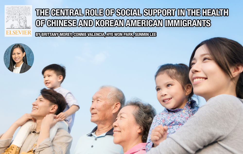 Public health researchers show that strong social support networks in Chinese and Korean American communities equates to healthier, happier individuals