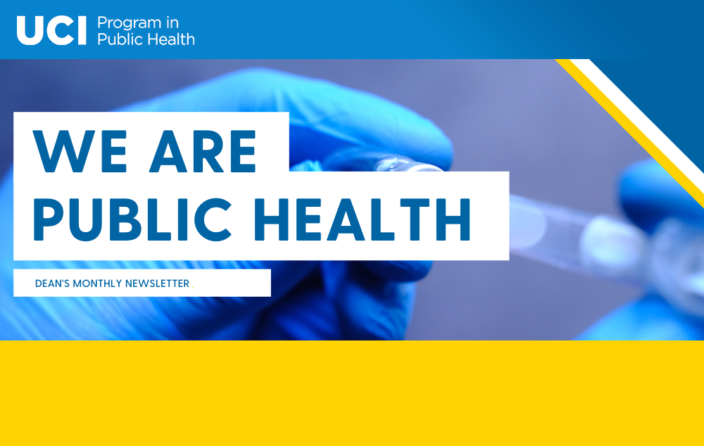 We are Public Health Newsletter - May/June 2021